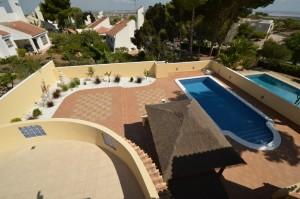 Villa San Miguel Dachterrasse Pool